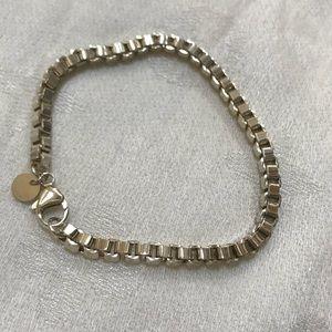 Tiffany Venetian Box Chain Bracelet